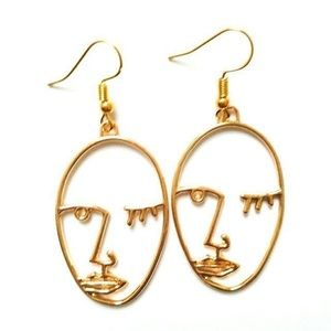 Matisse Face Earrings